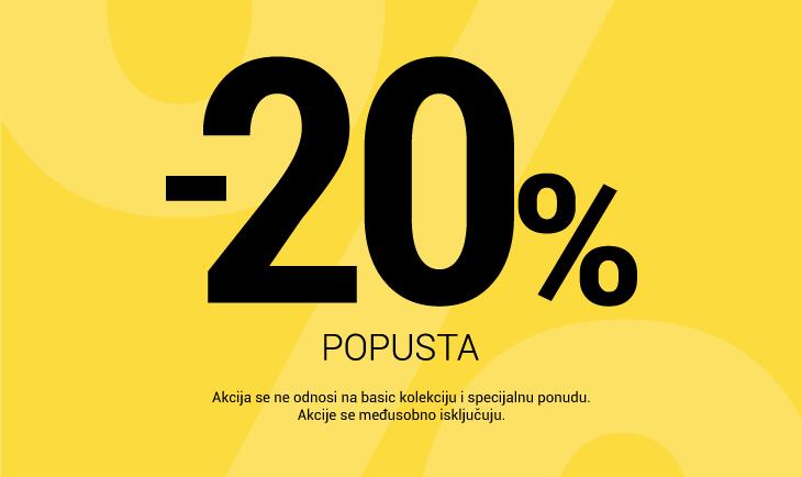 -20% popusta