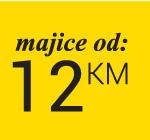 Majice od 12 km - samo na web shop-u