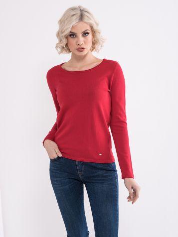 Crveni ženski džemper