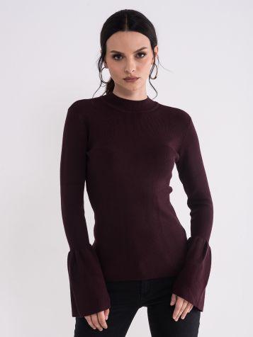 Ženski ljubičasti džemper