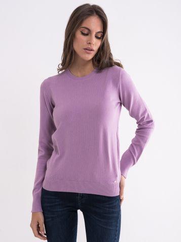 Ženski svijetlo lila džemper