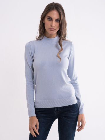Plavi ženski džemper