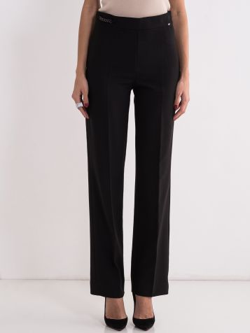 Elegantne crne pantalone