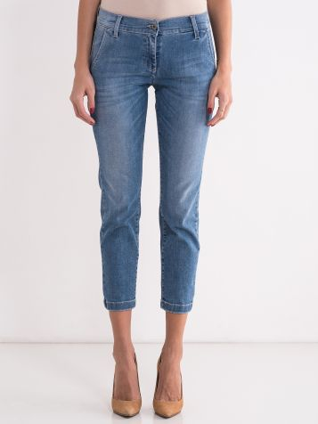 Ženske denim pantalone