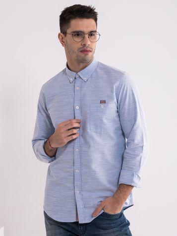 Pamučna svijetlo plava košulja
