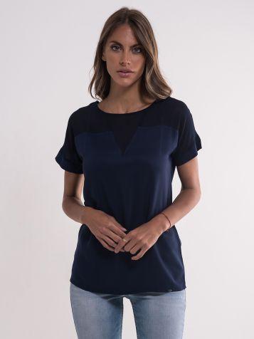 Teget elegantna bluza