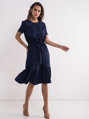 Viskozna teget haljina