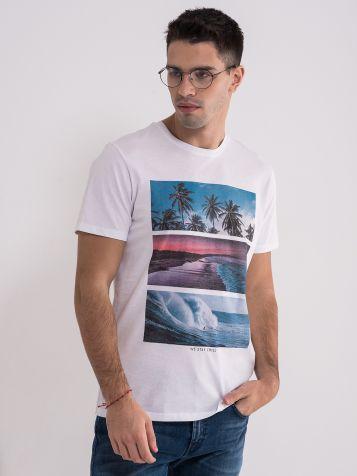 Muška majica sa atraktivnim printom