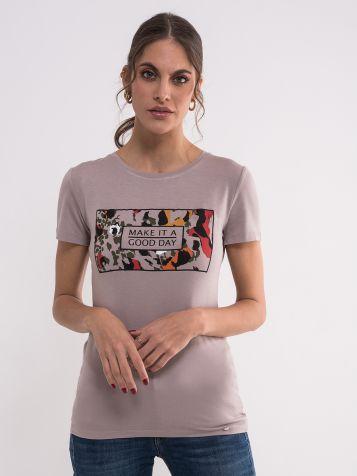 Drap majica sa printom
