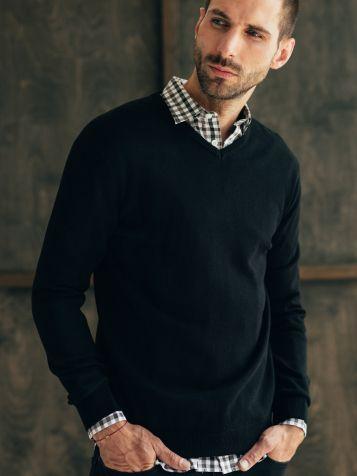 Muški basic džemper